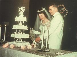 Wedding – Joice and Karl (May 26, 1956)