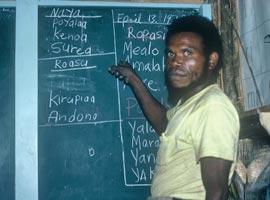 Kewa program literacy teacher